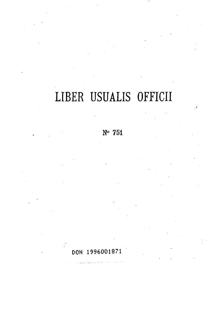 Gregorian Chant - Liber Usualis