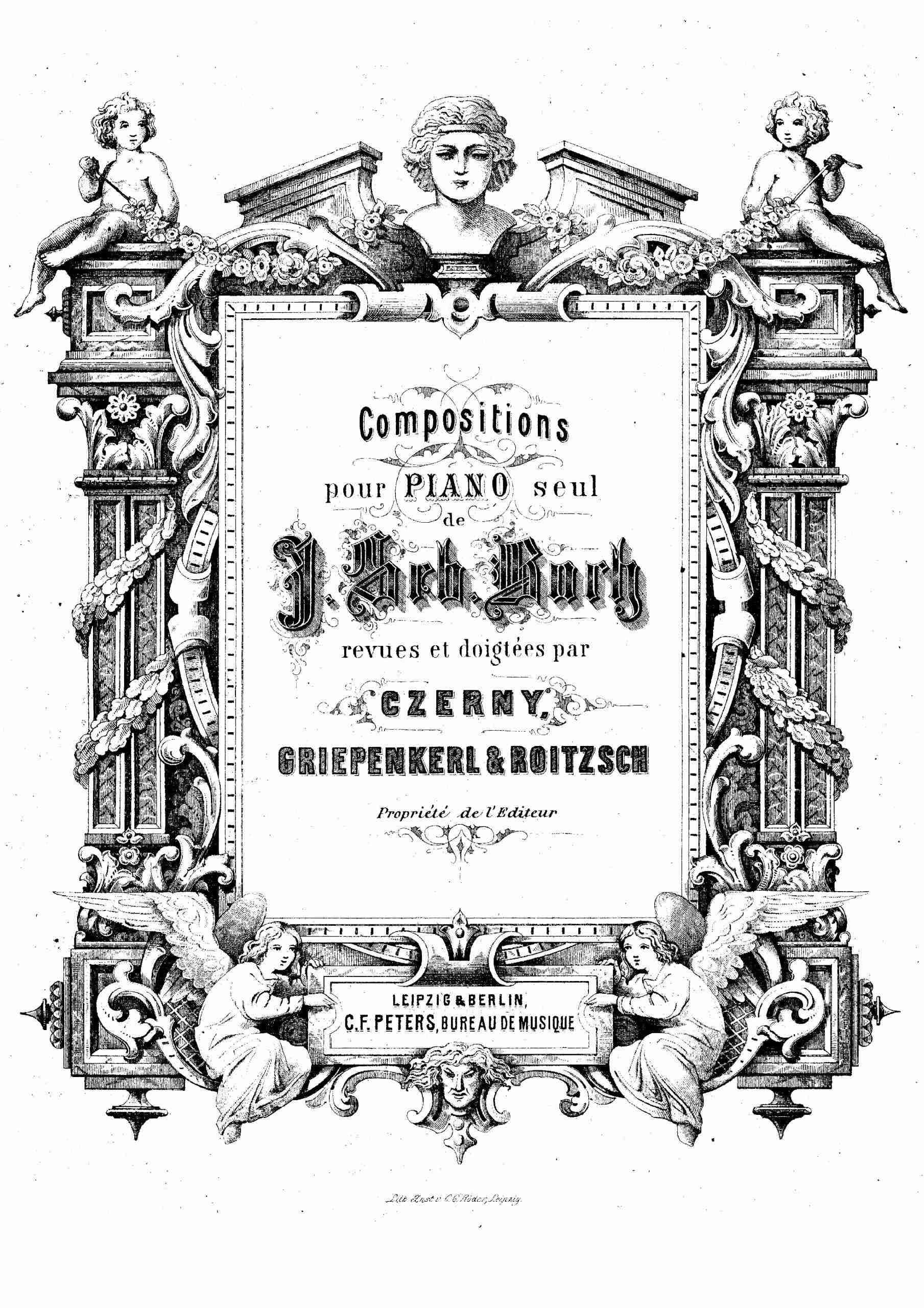 Bach, Johann Sebastian - Goldberg-Variationen, BWV 988