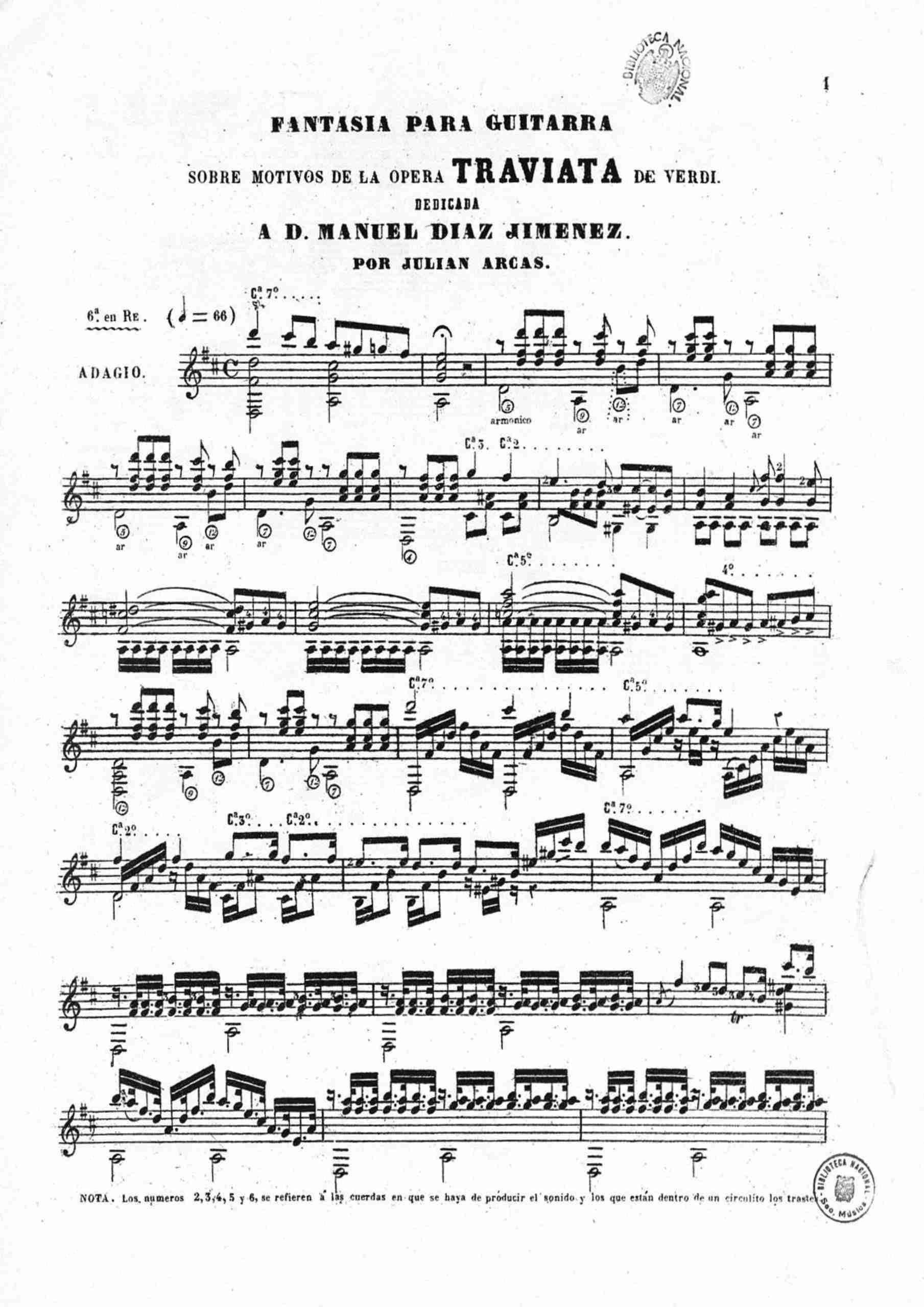 Arcas, Julián - Traviata Fantasía
