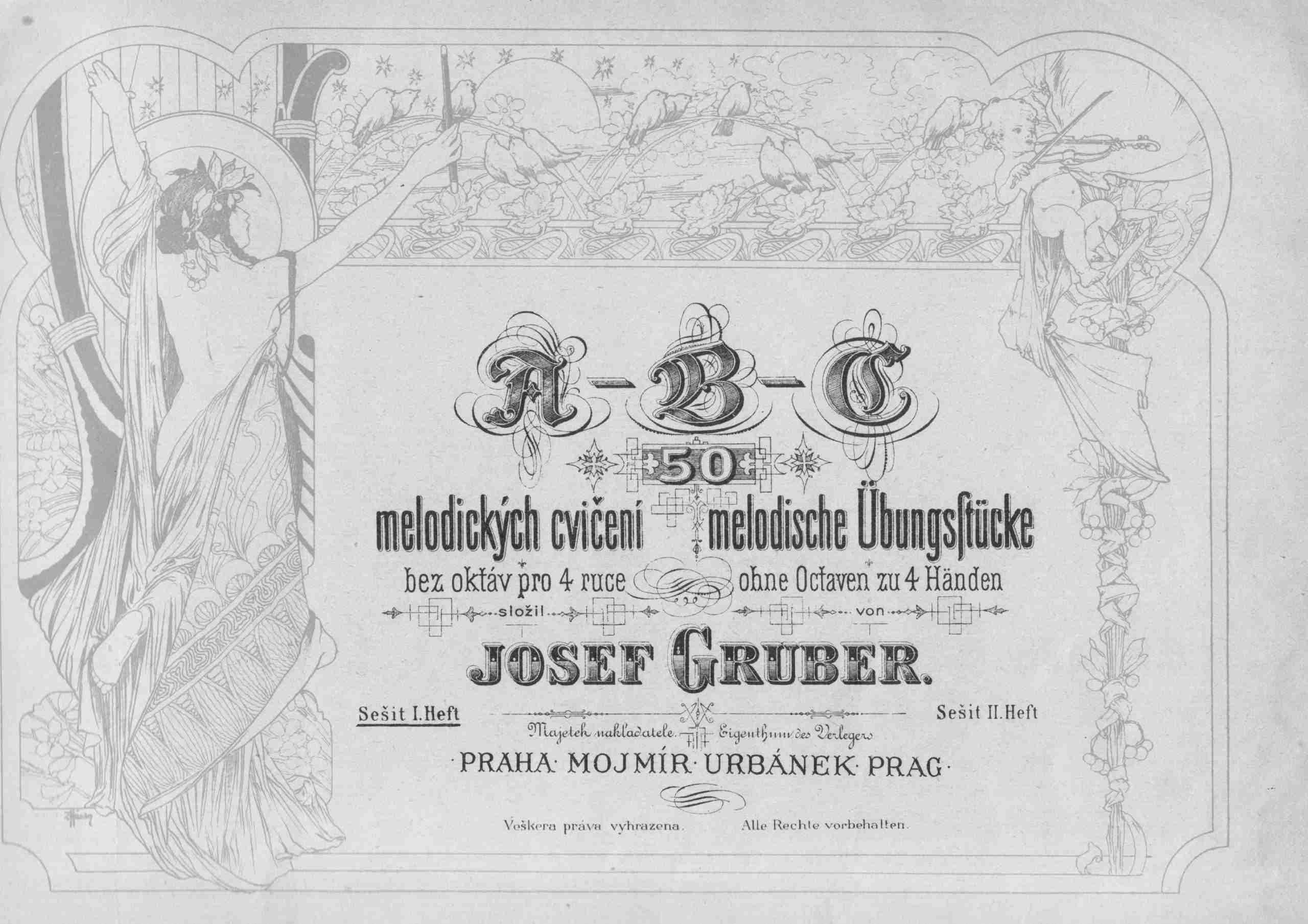 Gruber, Josef - A-B-C - Book 1